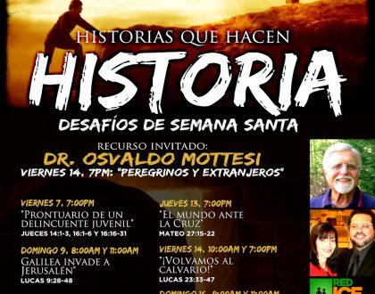 Historias que hacen Historia: Desafíos de Semana Santa con el Dr. Osvaldo Mottesi